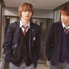 "Team ""suikyu yankees"" Kento x Nobuyuki Suzuki [Trailer, long ver, 03/16/16] http://wwws.warnerbros.co.jp/ookamishojo/ Fumi Nikaido x Kento Yamazaki, J LA movie ""Ookami shoujo to kuro ouji (Wolf girl n black prince)"". Release: May/28/16"