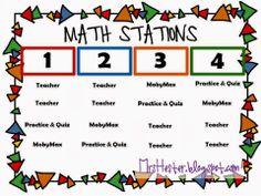 Math Workshop - 8th grade style!