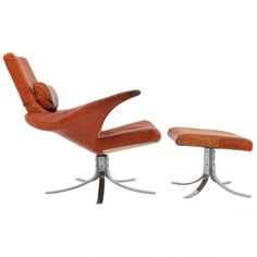 'Seagull' Lounge Chair by Berg & Eriksson