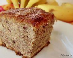 Bolo D Banana, Banana Bread, Stevia, Sweet Recipes, Cake Recipes, Sweet Pie, Homemade Cakes, Cupcake Cakes, Sweet Tooth