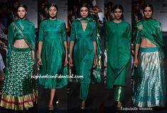 Lakme Fashion Week Winter:Festive 2014- Sanjay Garg-4/love look4