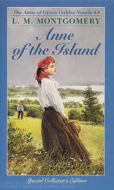Anne of the Island by Lucy Maud Montgomery (my fave Anne cover picture. Captures her perfectly.)