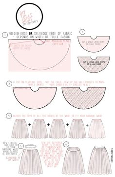 VERY simple tulle skirt tutorial, would be cute for a slip under a too short skirt as #skirt scaft #DIY Skirts| http://diyskirts.lemoncoin.org
