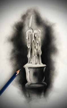 Tattoo Design - Candle by badfish1111.deviantart.com on @DeviantArt