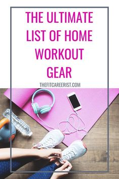 The beauty of a home fitness space is that you can design it any way you want. It can have all the bells and whistles, or just these at-home gym essentials. Workout Gear, No Equipment Workout, Fun Workouts, At Home Workouts, Gym Gear, Workout Exercises, Body Workouts, Finding Motivation, Fitness Motivation