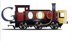 Google Doodle   Google Logo Train