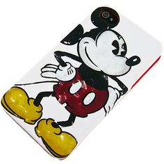 Disney Hard Shell Case for iPhone 4 & 4S, Series 1 Mickey