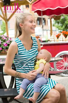Chicken Tacos Discover Striped nursing tank dress in teal Fresh stylish nursing clothing for modern moms. Our nursing tops nursing dresses & nursing sleepwear make breastfeeding anywhere both convenient & discreet. Nursing Tank, Nursing Wear, Nursing Dress, Maternity Nursing, Casual Maternity, Maternity Wear, Maternity Fashion, Maternity Dresses, Breastfeeding Fashion