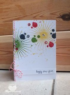 magical scrapworld happy new year christmas card stampin up gorgeous grunge kinda eclectic