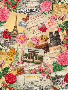 Spring In Paris - Tourist Spots - Cream
