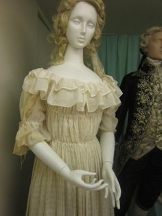 via Scandalous Liberty | 1783-90 chemise a la reine from the Manchester City Galleries