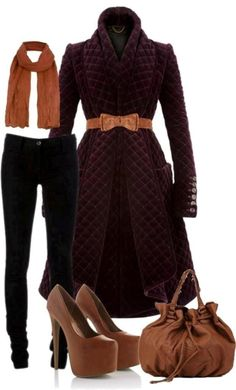 fall-and-winter-outfits-2016-2 79 Elegant Fall & Winter Outfit Ideas 2017