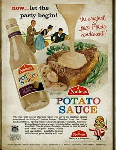 "Runny potato sauce to pour on everything! It boasts almost ""indetectable"" flavor!"