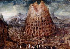 BABEL TOWER....BY MARTEN VAN VALCKENBORCH.....AROUND 1600....BOITEAOUTILS...