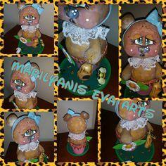 Dulcero Osita handmade by  Marilyanis Eva Arts