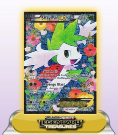 SHAYMIN EX FULL ART HP110 - RC21/RC25