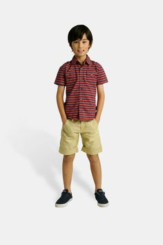 Toobydoo Button Polo Shirt from Mini Ruby