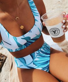 Really cute bikini! Bright and tropical. Trendy Bikinis, Bikinis For Sale, Summer Bikinis, Cute Bikinis, Summer Bathing Suits, Cute Bathing Suits, Summer Suits, Bikini Outfits, Stylish Clothes
