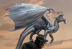 silver dragon d&d - Google Search
