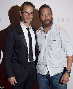 Tom Hardy and Guy Pearce!
