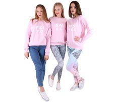 Jumpers & Sweatshirts – Set of three oversize sweatshirts for friends – a unique product by MoodyMood on DaWanda