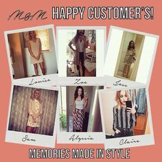We LOVE happy customers!! Don't forget to tag us wearing your M&M outfits & get an extra stamp on your loyalty card!! Check out what all the fuss is about at 21 Guildhall Street Preston City centre or shop online at www.maryandmilly.co.uk & get FREE UK shipping