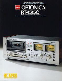 Audio Design, Best Ads, Tape Recorder, Hifi Audio, Boombox, Vintage Market, Retro, Decks, Sony
