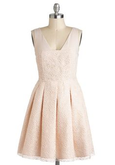 Affection for Confection Dress, #ModCloth  Love this for an alternative to a traditional wedding dress!