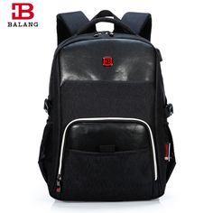 26e33734d0ec BALANG High Quality Laptop Backpack for Men Women Waterproof Travel Backpack  Casual Notebook School Bags For Teenagers Rucksack