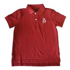 State Traditions Red Youth Alabama Polo
