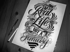 Specializing in calligraphy, designer Mateusz Witczak is a young fellow but has…