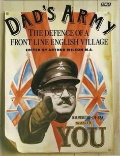 Dads army. You won't find this show funny unless you have a sarcastic sense of English humor....like me.
