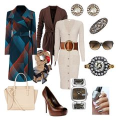 """""""Untitled #43"""" by quiltingshelby on Polyvore featuring Gucci, Victoria Beckham, MUNNU The Gem Palace, Rick Owens, Kirat Young, Autumn Cashmere, Frame Denim, Roland Mouret and Salvatore Ferragamo"""