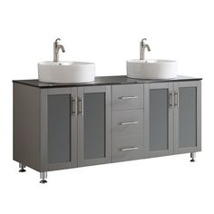 "Found it at Joss & Main - Toscano 60"" Double Bathroom Vanity"