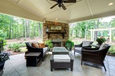 Craftsman Patio - Found on Zillow Digs