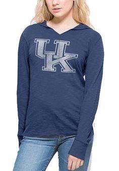 '47 Kentucky Wildcats Womens Blue Primetime Hoodie