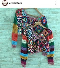 CO-LO-RIN-DO a sua timeline em 3 2 VALENDOOOO! 🤗 See other ideas and pictures from the category menu…. Faneks healthy and active life ideas Débardeurs Au Crochet, Crochet Bolero, Moda Crochet, Diy Crochet And Knitting, Crochet Coat, Crochet Jacket, Crochet Cardigan, Crochet Granny, Crochet Clothes