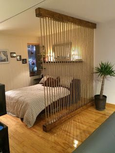 Awesome Room Divider Ideas to Make your Limited Space looks Amazing Interior Des.:separator:Awesome Room Divider Ideas to Make your Limited Space looks Amazing Interior Des. Room Divider Diy, Hanging Room Dividers, Sliding Room Dividers, Wall Dividers, Space Dividers, Dividers For Rooms, Bed Divider, Room Divider Walls, Small Apartments