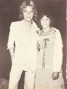 THIS is why all the girls wanted to be Kristy McNichol....Leif Garrett!