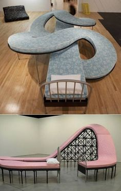 Crazy bed - Cool if you have the space.
