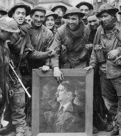 British soldiers in Kleve