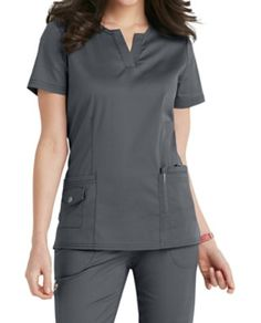 Beyond Scrubs Juna Split V-neck Scrub Tops Scrubs Outfit, Scrubs Uniform, Dental Uniforms, Doctor Scrubs, Stylish Scrubs, Womens Scrubs, Medical Scrubs, Nursing Clothes, Scrub Tops