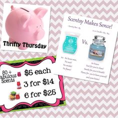 Thrifty Thursday: Scentsy Bars Value & Specials jennyperrault.scentsy.us