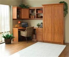 <b>A Murphy Bed Stays Hidden Until You Need It</b> - In a multi-use room, a Murphy Bed is out of the way until you need it. Hidden behind beautiful cabinetry, you'll never know it's there.