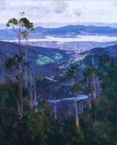Australian Impressionist Painter Arthur Streeton (1867-1943)