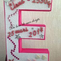juliette d co lettres en bois pr nom loisirs cr atifs pinterest. Black Bedroom Furniture Sets. Home Design Ideas
