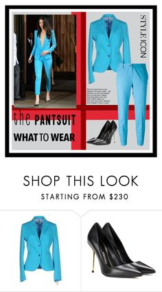 """The Pantsuit #2"" by paulinajuopperi ❤ liked on Polyvore featuring Manuel Ritz, Tom Ford, Alberto Biani, GetTheLook, kendalljenner and thepantsuit"