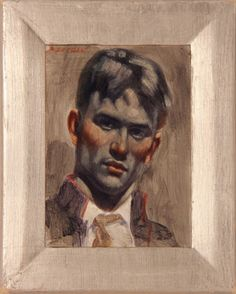 [Bruce Sargeant (1898-1938)] Portrait of a Soldier
