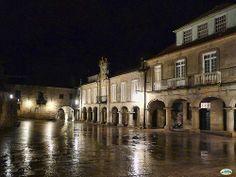 Pontevedra-Nocturna plaza da Pedreira