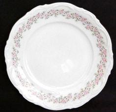"""Lady Beatrice by Mitterteich Bavaria Germany Salad Plate German Gold Trim 7-7/8"""" #Mitterteich"""